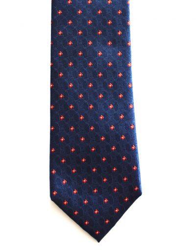 Cravata romburi visinii; latime 8 cm
