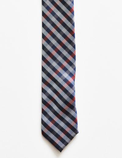 Cravata extra slim; latime 5 cm